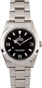 Rolex Explorer 14270 Black Dial 36MM