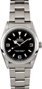 Rolex Explorer 14270 Certified Pre-Owned