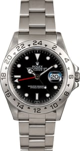 Men's Rolex Explorer II Ref 16570 Black Dial