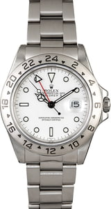 PreOwned Rolex Explorer II Ref 16570 White Dial