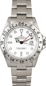 Used Rolex Explorer II Ref 16570 White 'Polar' Dial