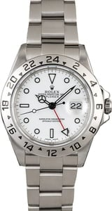 Certified Pre-Owned Rolex Explorer II Ref 16570