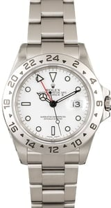 PreOwned Rolex Explorer II Ref 16570 Steel Watch