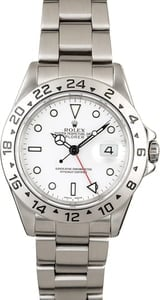 Men's Rolex Explorer II Ref 16570 Steel Oyster