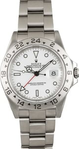 Used Men's Rolex Explorer II Men's Stainless Steel Watch 16570 3