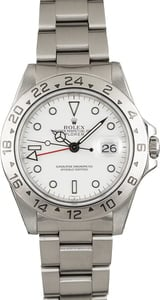 Used Rolex Explorer II Ref 16570 White Luminous Dial