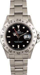 Pre Owned Rolex Explorer II Ref 16570 Black