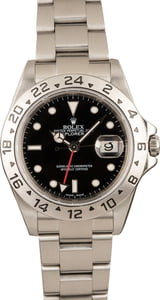 Used Rolex Explorer II Ref 16570 Black Luminous Dial