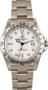 Used Rolex 'Polar' Explorer II Ref 16570