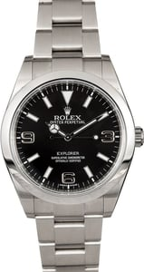 Authentic Rolex Explorer 214270 Black Dial