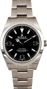 Pre Owned Rolex Explorer 214270 - Arabic Markers