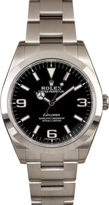 Unworn Rolex Explorer 214270 Luminescent Arabic Markers