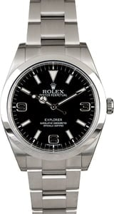 PreOwned Rolex Explorer 214270 Stainless Steel Oyster