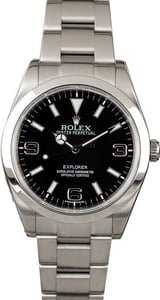 Used Rolex Explorer 214270 Stainless Steel
