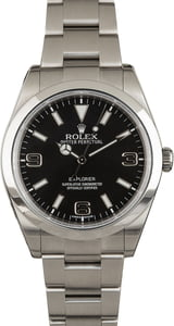 Rolex Explorer 214270 Black Dial with Arabic Markers