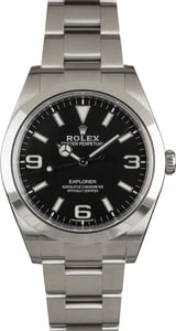 Pre-Owned Rolex Explorer 214270 Mark II Luminous Dial