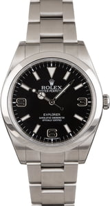 Rolex Explorer 214270 Mark 1 Black Dial