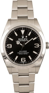 Rolex Explorer 214270 Black 'Mark II' Dial