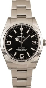 Pre-Owned Rolex Explorer 214270 Mark II Dial Watch