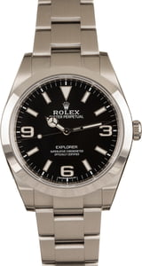 Pre-Owned Rolex Explorer 214270 Mark II Dial