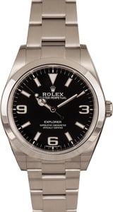 Pre-Owned Rolex Explorer 214270 Mark II Luminous Markers