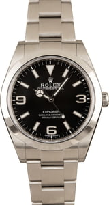 Pre-Owned Rolex Explorer 214270 Mark II Dial 39MM