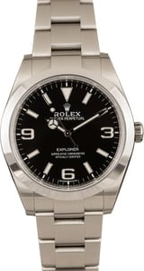 Pre-Owned Rolex Explorer 214270 - Mark II Dial