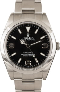 Rolex Black Explorer I 214270 39MM