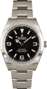 Rolex Explorer 214270BKASO Luminous Dial