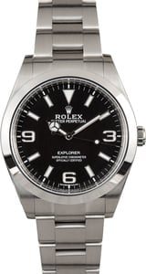 Rolex Explorer 214270 Factory Stickers
