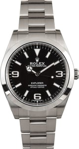 Rolex Explorer 214270 Luminous Dial
