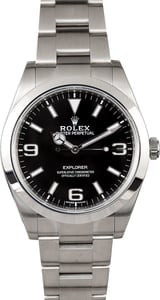Rolex Explorer 214270 Stainless Steel Oyster