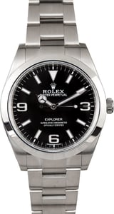 Rolex Explorer 214270 Luminous Markers