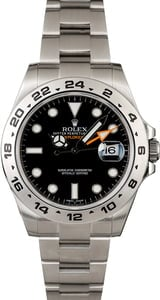 Used Rolex Explorer II Ref 216570 Steel Watch
