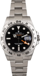 Rolex Explorer II Steel 216570 Black Dial