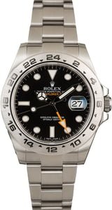 Rolex Explorer II 216570 Black 42MM Model