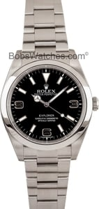 Rolex Explorer 114270 Serial Engraved