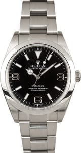 Rolex Explorer I 214270 Pre-Owned 39MM