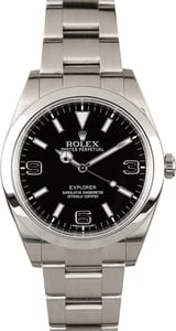 Rolex Explorer I 214270 Certified Pre-Owned