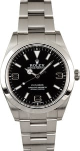 Rolex Explorer I Black 214270 Certified Pre-Owned