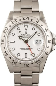 Pre-Owned Rolex Explorer II 16550 Stainless Steel