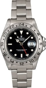 Men's Rolex Explorer II 16570 Black TT