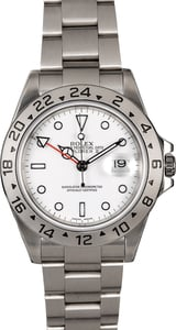 Men's Rolex Explorer II 16570 Polar Dial