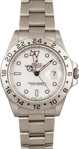 Pre-Owned Rolex Explorer II Ref 16570 'Polar' Model