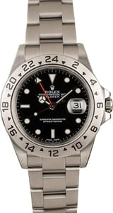 Pre-Owned Explorer II Rolex 16570 GMT Bezel