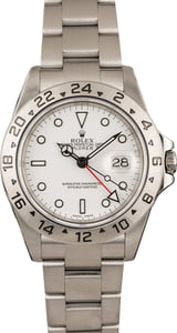 Pre-Owned Rolex Explorer II 'Polar' Dial 16570