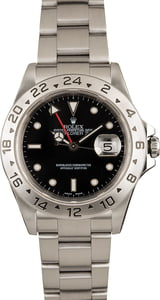 Use Men's Rolex Explorer II 16570-BKSO
