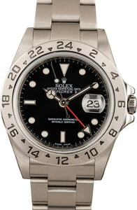 Rolex Explorer II Ref 16570 Steel Watch