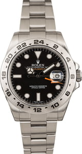 Used Rolex Explorer II Ref 216570 Black