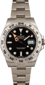 Rolex Explorer II 216570 Orange GMT Hand